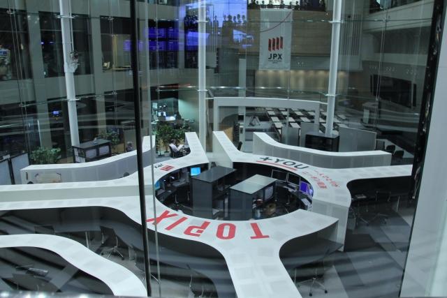 東京証券取引所の風景