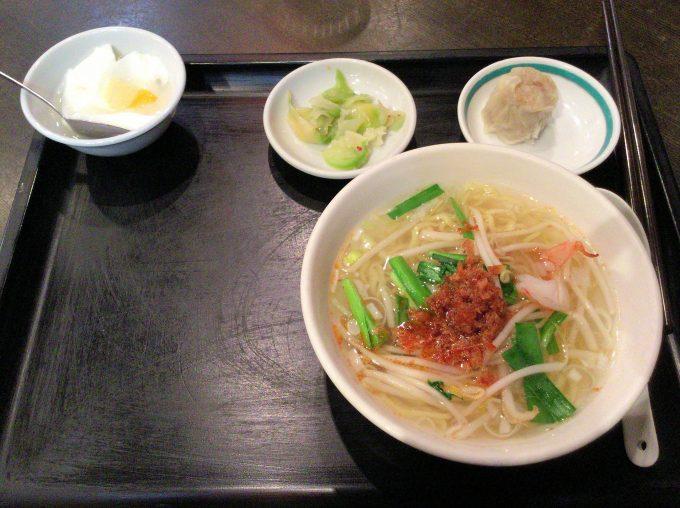 麒麟中華大食堂の担仔麺