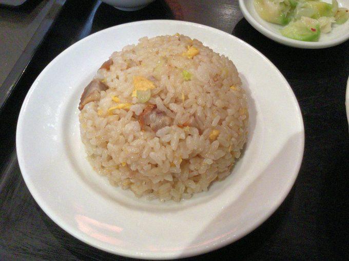 麒麟中華大食堂の担仔麺(チャーハン)