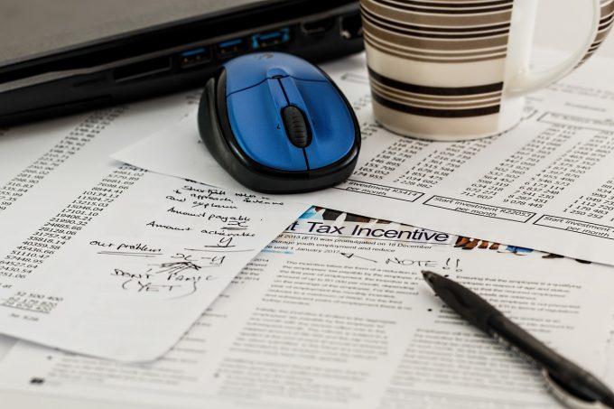 税計算とパソコン