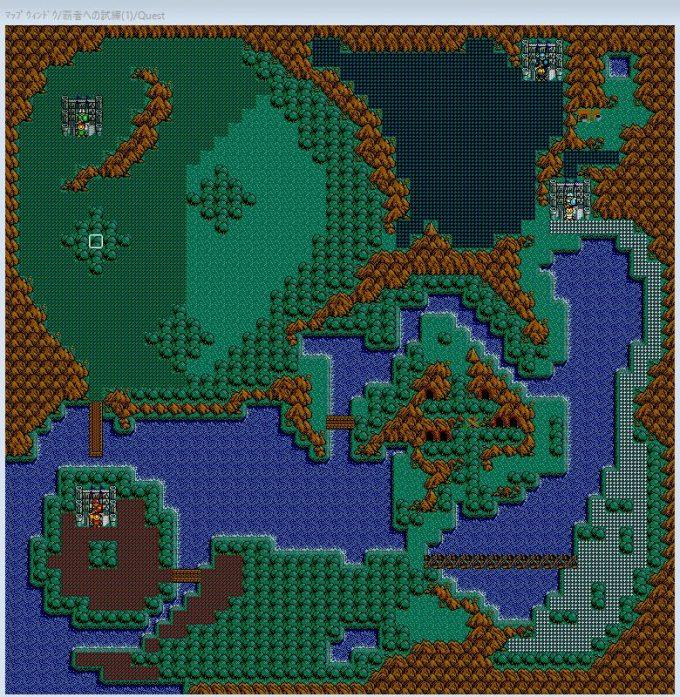 ロードモナークのマップ