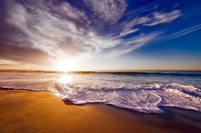 カリフォルニアの浜辺
