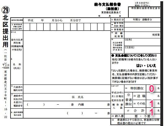 給与支払報告書総括表